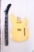1 set Electric Guitar body + guitar neck Solid wood End product
