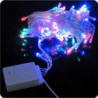 2pcs/lot 100 LED 10M LED String Light led Christmas/Wedding/Party Decoration Lights AC 110V 220V