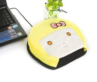 2014Free shipping Hot New Lovely anime mouse pad Usb Hand Warmer Heated usb warmer electric heating off 50%