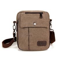New arrive simple casual Men's messenger bags  vintage canvas famous brand travel bags shoulder bag