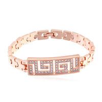 new brand design fashion woman TOP 18K gold bracelet king of the wind Zircon Bangle Bracelet 107710
