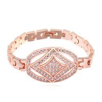 new brand design fashion woman TOP 18K gold bracelet Arcomage CZ Bangle Bracelet 107708