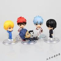 Kuroko no Basket PVC Figure Loose 5 pcs set toy Cartoon & Anime movie #A