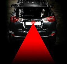 Anti-Fog Car Laser Light Anti-collision laser LED Laser Fog Light Car Warning Radiation Light New car styling Cars powerful