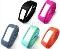 DHL Free 50pcs/lot TPU Replacement Wristband+Clasp NoTracker For Vivofit Smart Sport Wireless Activity Bracelet--Large size