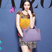 New Fashion Women Handbag Shoulder Crossbody Bag PU Leather Bags  4 Pcs/ setsHandbag+Messenger Bag+Purse+Wallet