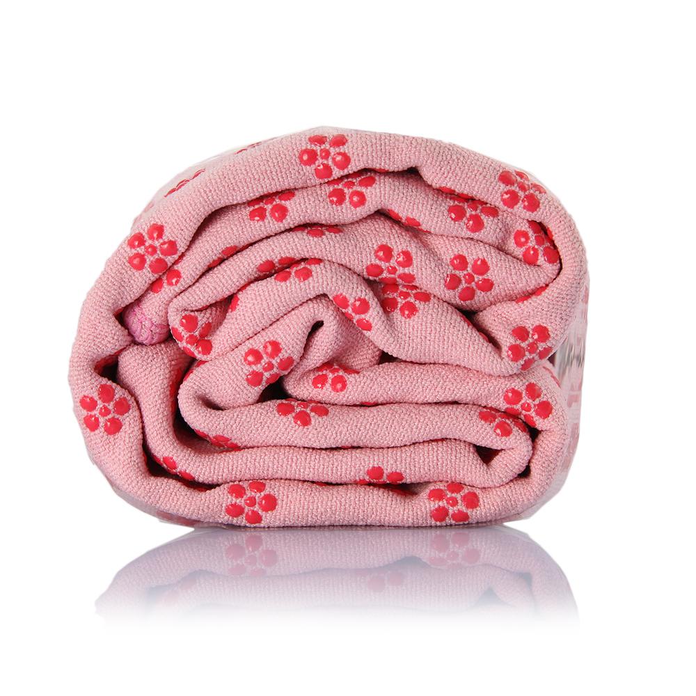 Hot Yoga toalha de microfibra antiderrapante Skidless toalhas tapete de Yoga para Yoga exercício de Fitness Pilates cor de rosa(China (Mainland))