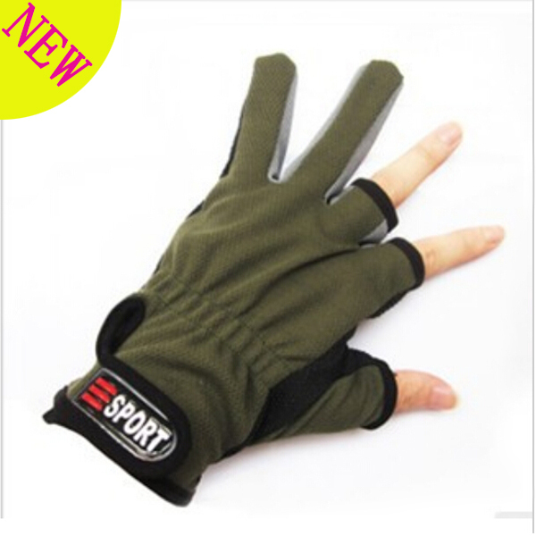 New Arrival Half Finger fishing gloves Outdoor Items For Fishing Gloves Comfortable Accessory Fishing Tool Tackle(China (Mainland))