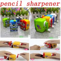 FREE SHIPPING Mech Warrior Manual Volume Pencil Machine Pencil Sharpener Office School Stationery Supplies Child Gift sharpener