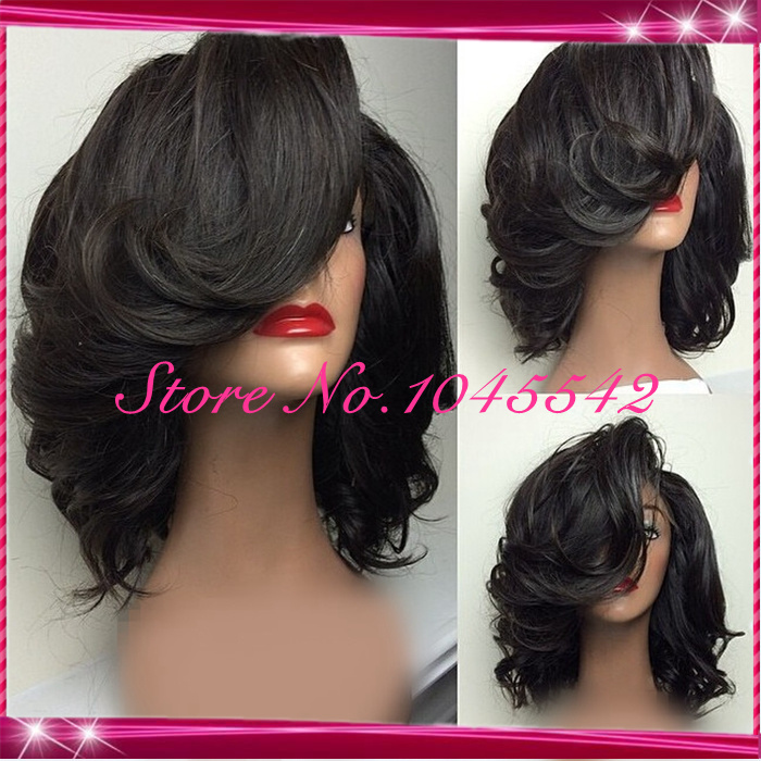 Human Hair Full Lace Front Wigs
