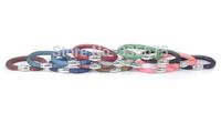 Newest fashion jewelry single wrap shining crystal stardust bracelet women christmas gift mesh bracelets with magnetic clasp