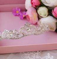 Alloy rhinestone bride crystal crown bride marriage accessories style hair accessory wedding accessories