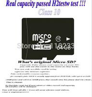 Memory card Real capacity 8GB 4GB 2GB class 4 16GB 32GB 64GB class 10 micro sd card pass h2testw + Free adapter + Free shipping