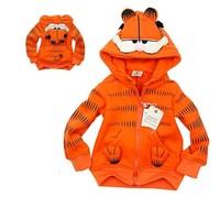 EMS DHL Free shipping kids boy girl cartoon cat spring jacket coat sweater sport shirt winter warm outerwear hoodies for child