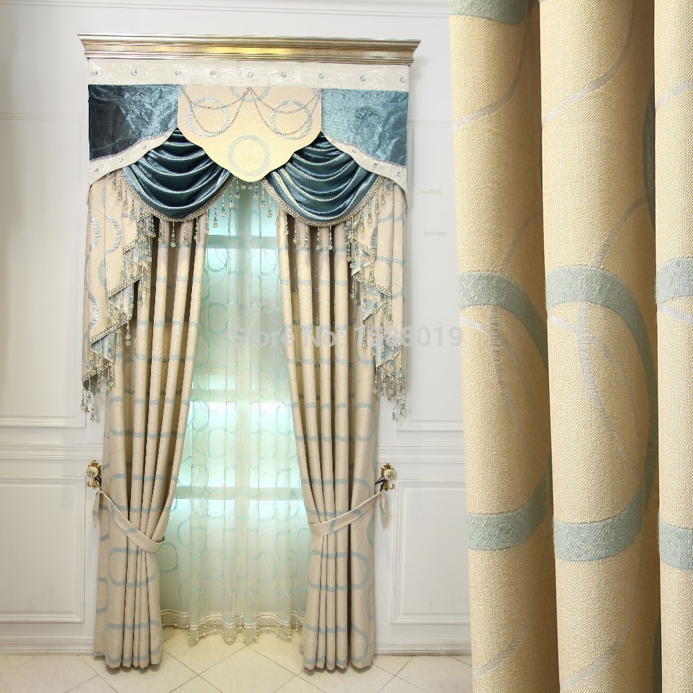 Buy 2015 Most Fashion European High Grade Customized Blackout Curtains For The