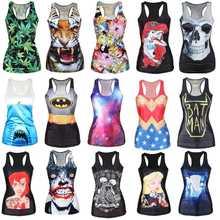 New 2015 brand women clothing 3D vest women t-shirt RIBS 3D Vest tops Skull bone Camisole Sexy Tank top(China (Mainland))