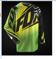 2014 NEW motocross Jerseys Dirt bike cycling bicycle MTB downhill shirts motorcycle t shirt Racing Jersey,yellow