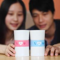 Lovers mug cup fashion ceramic cup romantic creative coffee cup 1314 lovers cup diy