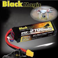 ORIGINAL BlackMagic 11.1V 2700mAh 25c 3S1P battery Applicable FOR DJI PHANTOM LiPo-battery more flight time