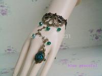 10pcs/lot 2014 hot type Rose Lace Bracelet Ring Festival wristband