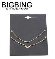 BigBing  jewelry fashion  Golden chain punk  Bracelet fashion 2 bracelet fashion jewelry B581