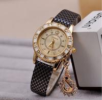 New 2014 HOT Brand Women Dress Watch Ladies Fashion Luxury Snake Watches Swan Pendant Quartz Watch Wristwatch Free shipping