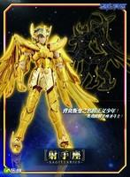 Free Shipping LC Models Saint Seiya Cloth Myth EX Gold Saint Sagittarius Aiolos Assemble Model Kit