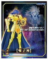 Free Shipping LC Model Gemini Saga / Kanon Saint Seiya Myth Cloth Gold Ex Gemini Saga / Kanon Action Figure Pre Sale