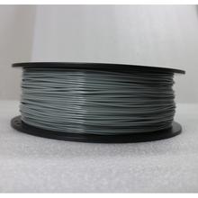Light Grey Color 3D Printer Filaments PLA 1.75mm 1kg Plastic Rubber Consumables Material