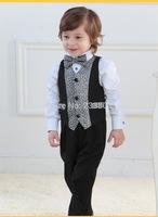 Children's waistcoat suit One full year of life vest dress The boy dress Flower girl dresses