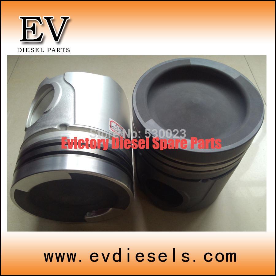 For Marine engine parts K19 piston kit 3628731 3096682 3070706 3096680 3070708(China (Mainland))