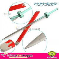 Sword Art Online SAO/ALO Asuna Yuuki sword Lambent light Rapier metal weapon Cosplay accessory  Christmas 106CM with scabbard