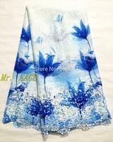 L321025  Free Shipping !! Multi Color Cord Lace / Multi Color Cupion Lace / Multi Color Chemical Lace