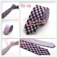 Cheap Hot sale Multi color 1pcs/lot,2015 Brand New,Men Diomand Check corbatas necktie,Mens Formal Wedding Skinny Neck Ties,TI14