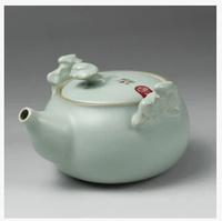 High quality Slitting teapot Kung Fu tea pot celadon Kettle porcelain ceramic tea set drinkware tea tools tableware tea bottle