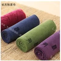 Tea towel absorbent good Japanese  Kung Fu tea towel cotton cloth Taiwan purple sand pot tea tools tableware