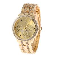 SHI KAI 8888 New Arrivals Women Dress Watches,Fashion Bracelet Stainless Steel Band Rhinestone Wristwatches