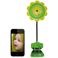 Newest wifi wireless AP baby camera  monitor with audio support TF card support iOS and Android smart phone tablet Free Shipping
