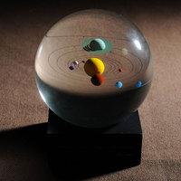 Celestial Crystal Ball 3D Solar System Crysal Ball Business gift Christmas gift Birthday gift Wedding gift