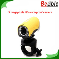 HD Camera 5 Megapixels Waterproof Camera alone support to take pictures with the Sport DVR
