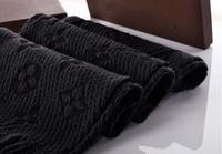 100% cashmere scarf Winter Women Flower Printe Scarves Mens Scarfs Fashion Famous Brand Scarf