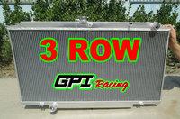 52MM 3ROW Aluminum Radiator  for Nissan PATROL Y61 GU 4.2L TD Diesel 1997-2001 1998 1999 2000 97 98 99 00 01 MT