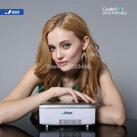JYK-X1 micro portable cooler box 2.5L, AC/DC/Li-battery, CEapprove