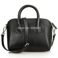 2015  genuine leather handbag snake bag shoulder bag women handbag