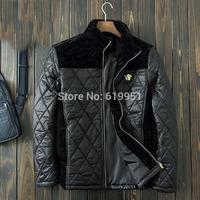 Down & Parkas 2014 Outdoors snow men quilted jackets mens jacket famous brand mens winter coats warm outerwear overcoat M-XXXL