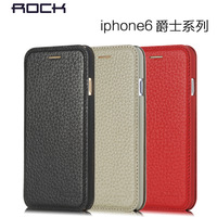 Original Rock Jazziness Series Genuine leather Flip case for iphone 6 cover