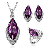 Free shipping! 2015 Latest luxury big fashion party jewelry set, Charm elegant jewelry set for women
