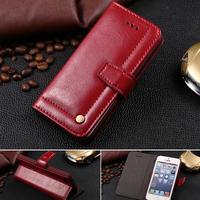 Retro & Luxury Leather Flip Case Brand For iPhone 6 4.7 & For iPhone6 Plus 5.5 Silm Design Cover