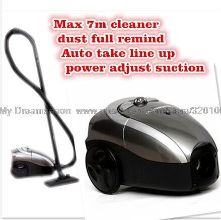Small household cleaner mini suction machine aspirator max 7m auto take up vacuum cleaner brands vacuum cleaner(China (Mainland))