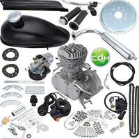 2 stroke 49cc  silver motorcycle engine/gasoline engine for bicycle/gasoline bike motor